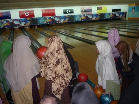 Muslimat turut memeriahkan suasana